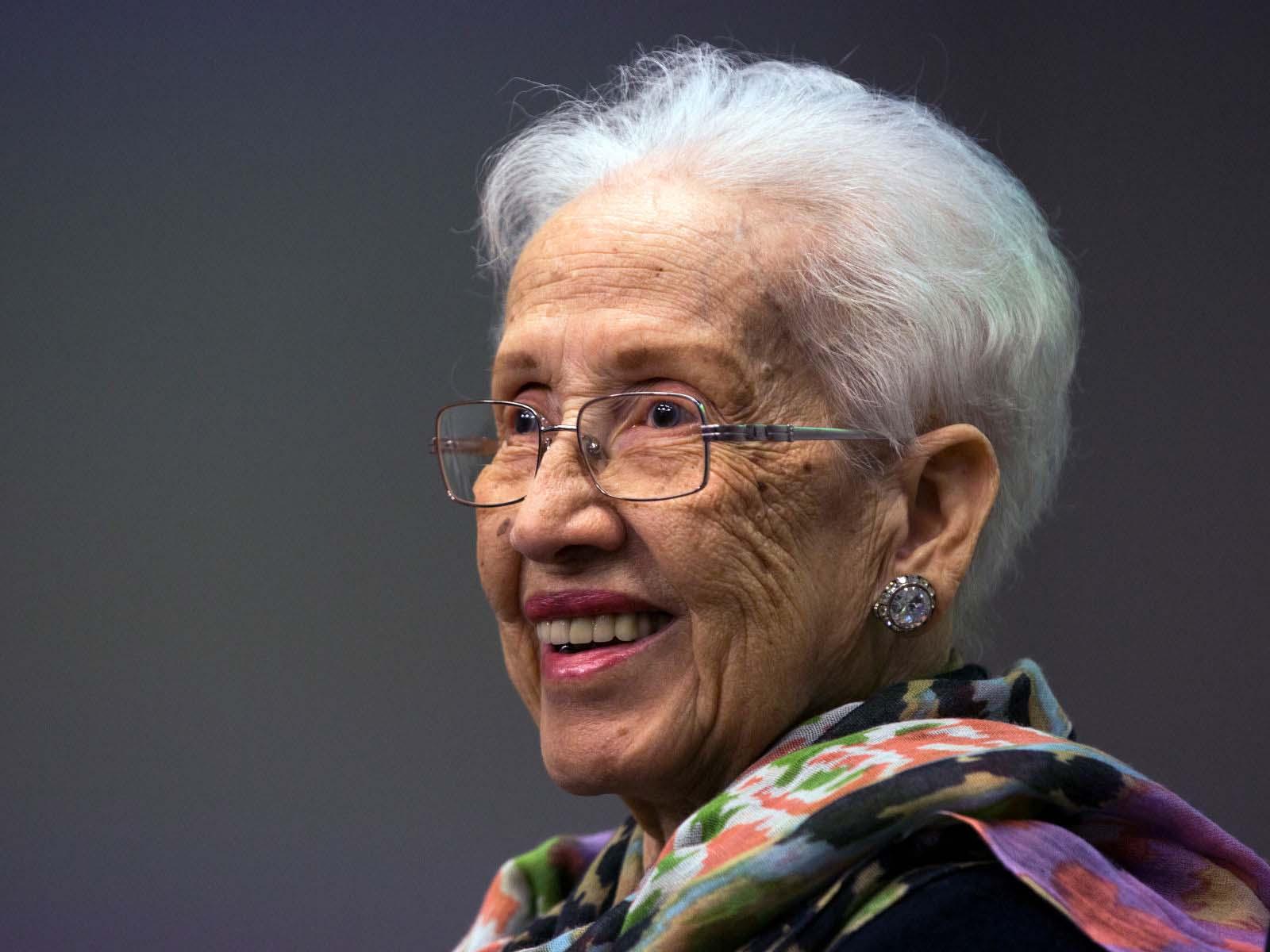 Katherine Johnson em 2016