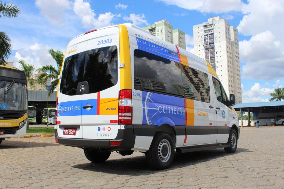 Miniônibus do CityBus 2.0 de Goiânia