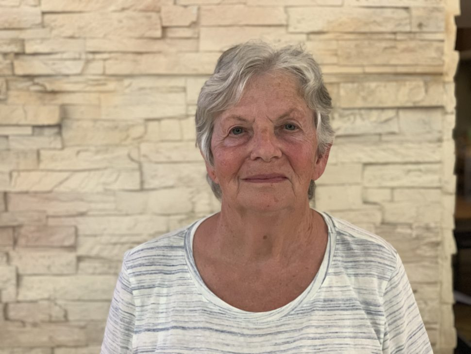 Ann, uma enfermeira da África do Sul