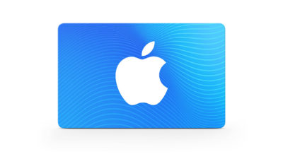 Cartão vale-presente da Apple
