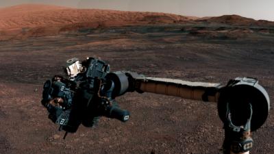 Braço robótico do rover Curiosity