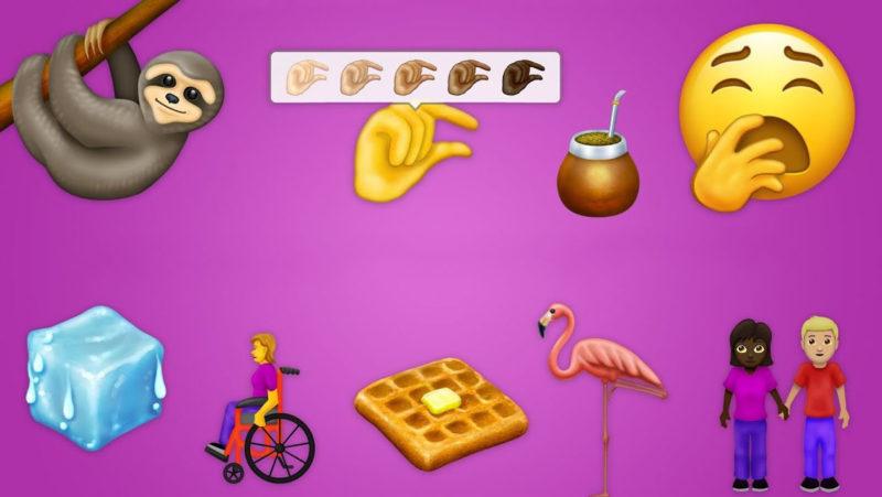 Novos emojis que devem chegar em 2019