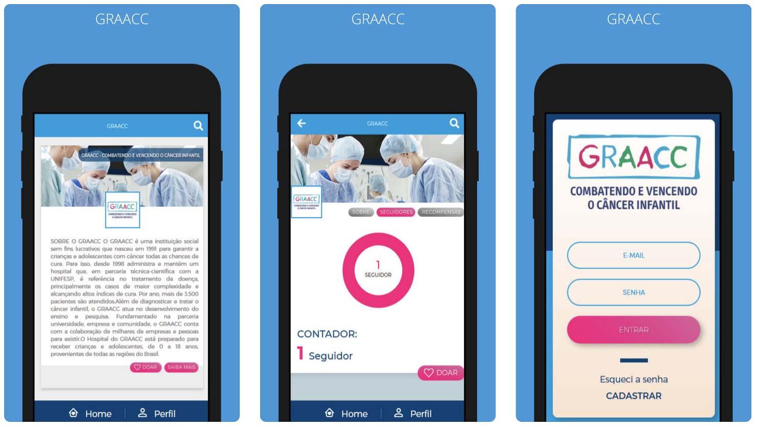 Aplicativo da GRAACC