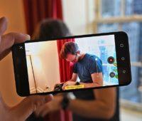 Aplicativo de câmera do LG G8 permite ajustar profundidade de campo em meio a gravação