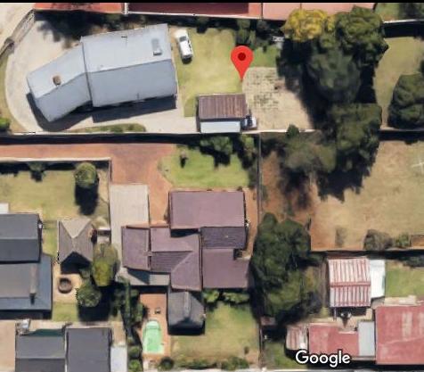 Localização da casa em Pretória da MaxMind