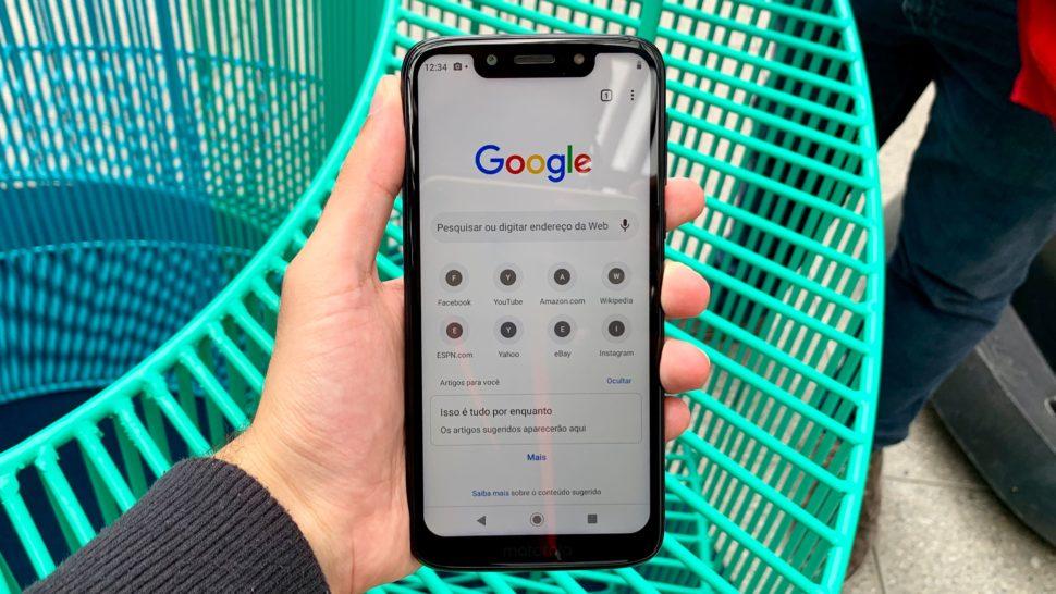 Imagem do Moto G7 Play