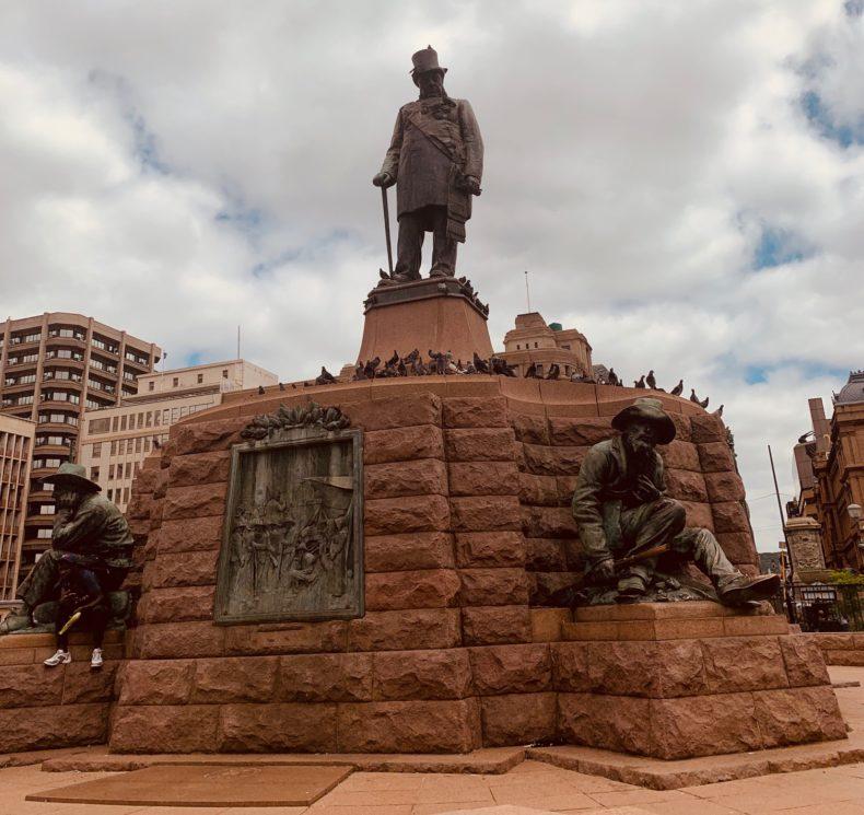 Estátua em Pretória, África do Sul