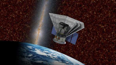 Conceito do telescópio espacial SPHEREx