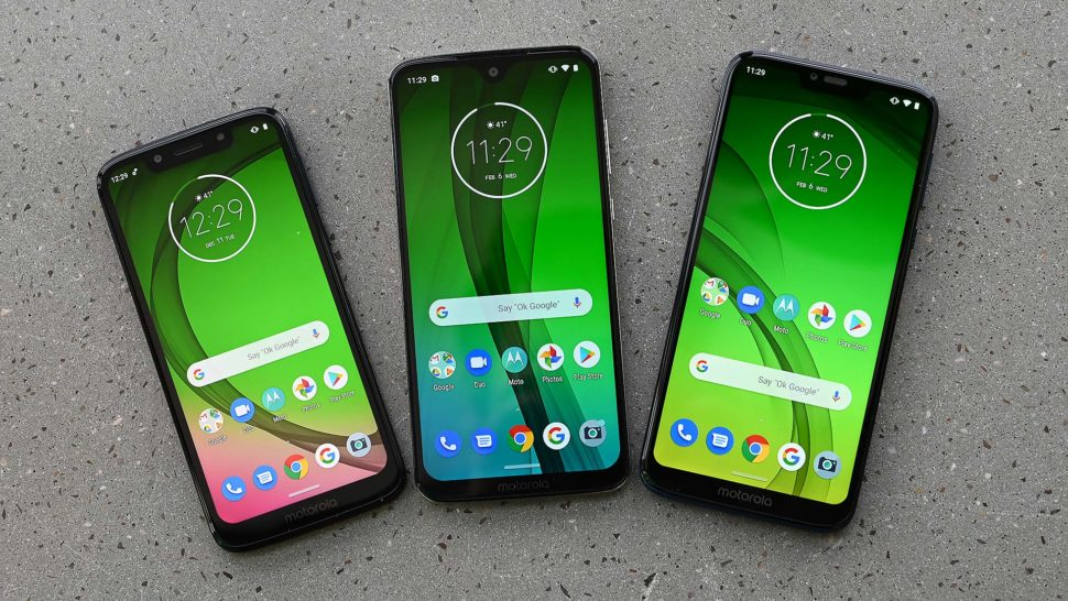Smartphones Moto G7 Play, Moto G7 e Moto G7 Power