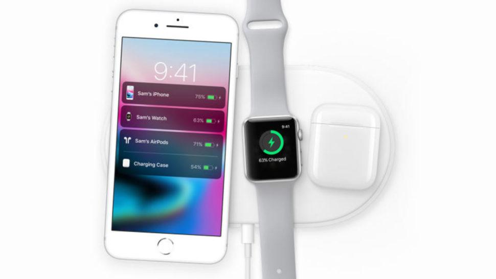 Imagem do AirPower, o carregador sem fio da Apple