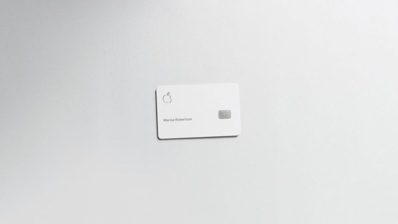 Apple Card de titânio