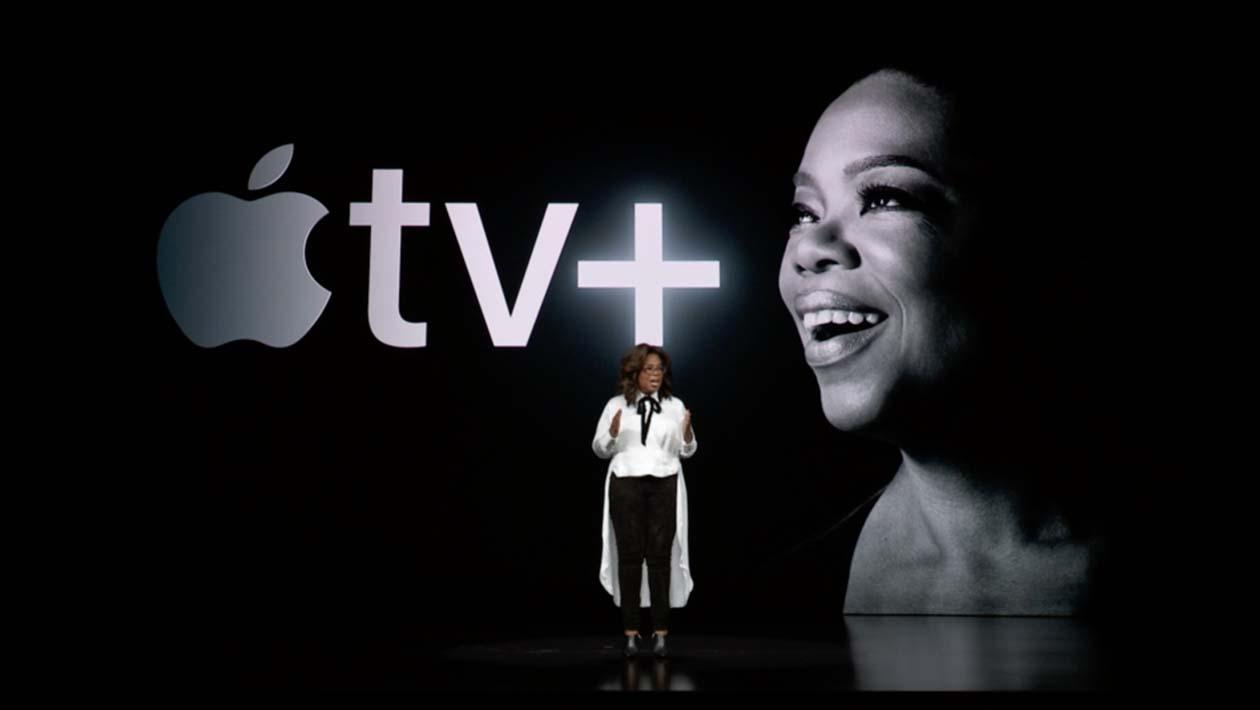 Oprah Winfrey fala sobre serviço Apple TV+ em evento