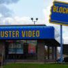 fachada de loja da blockbuster nos eua