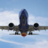 Boeing 737 Max voando