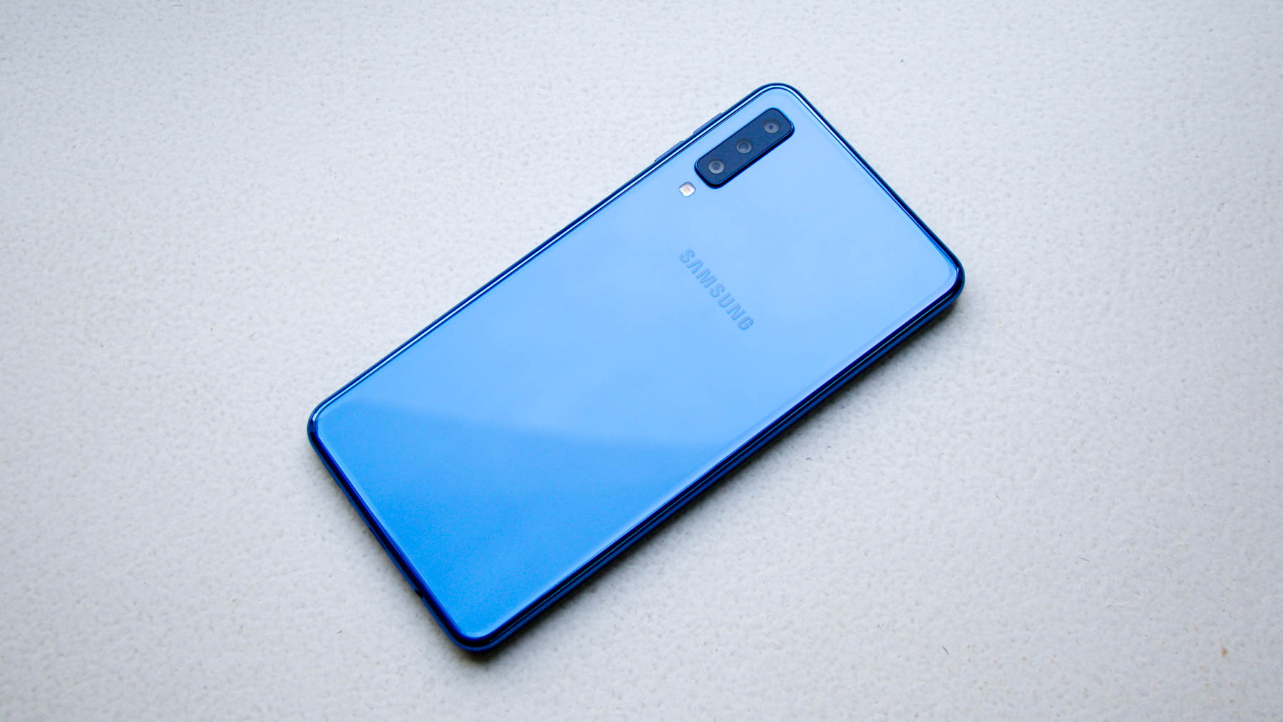 Traseira do Galaxy A7 (2018)