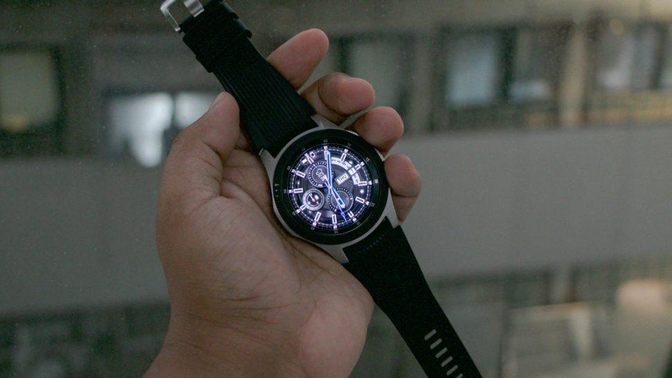 Galaxy Watch aberto