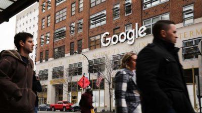 Escritório do Google em Nova York