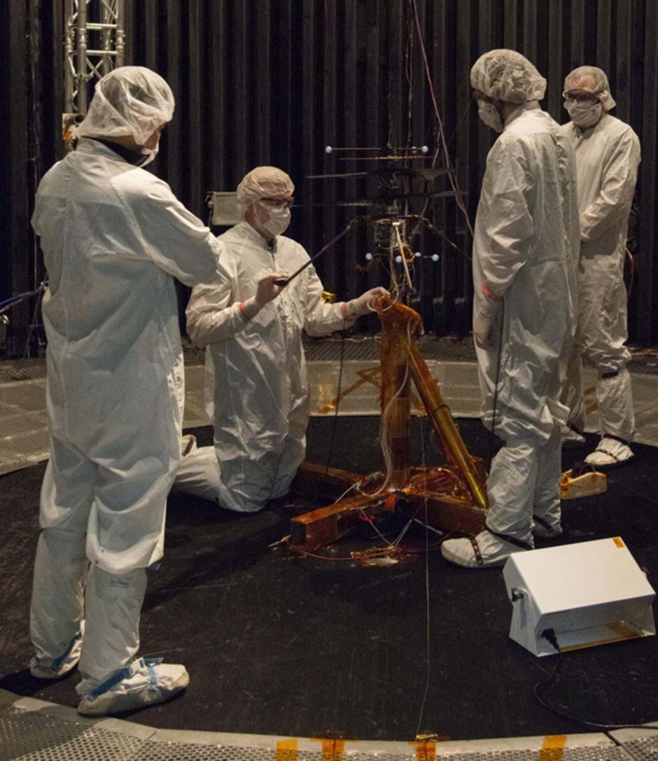 Equipe prepara helicóptero que tentará voo em Marte para testes