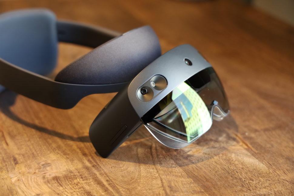 Detalhe do HoloLens 2