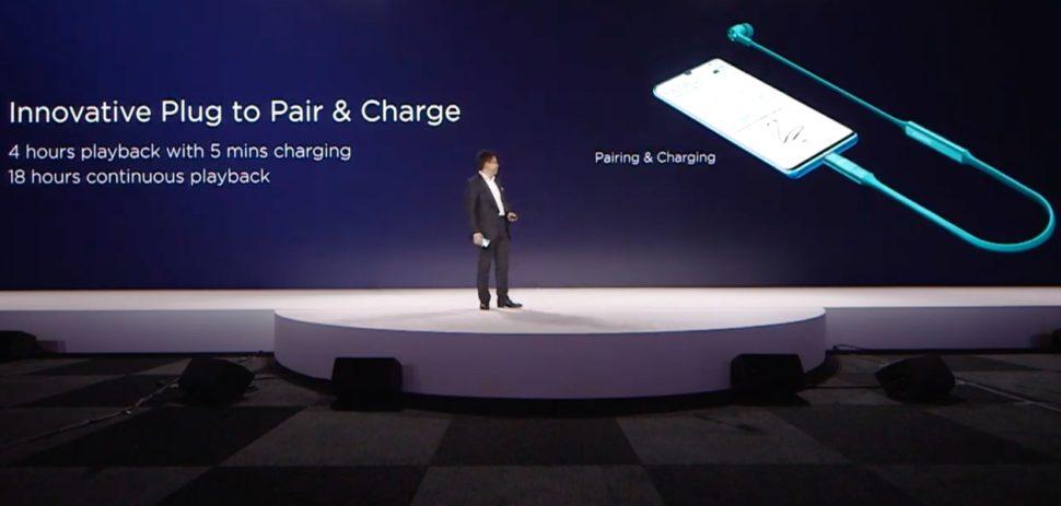 Fones de ouvido Huawei Freelace