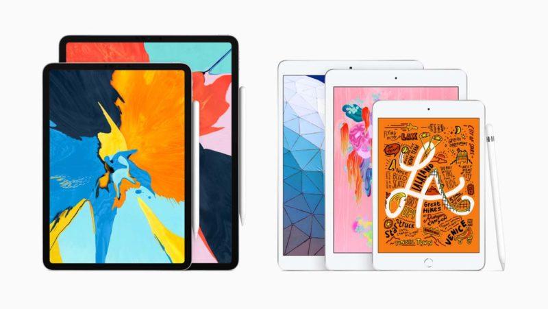 iPad Air e iPad mini, lado a lado