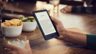 Nova geração do Kindle básico com luz