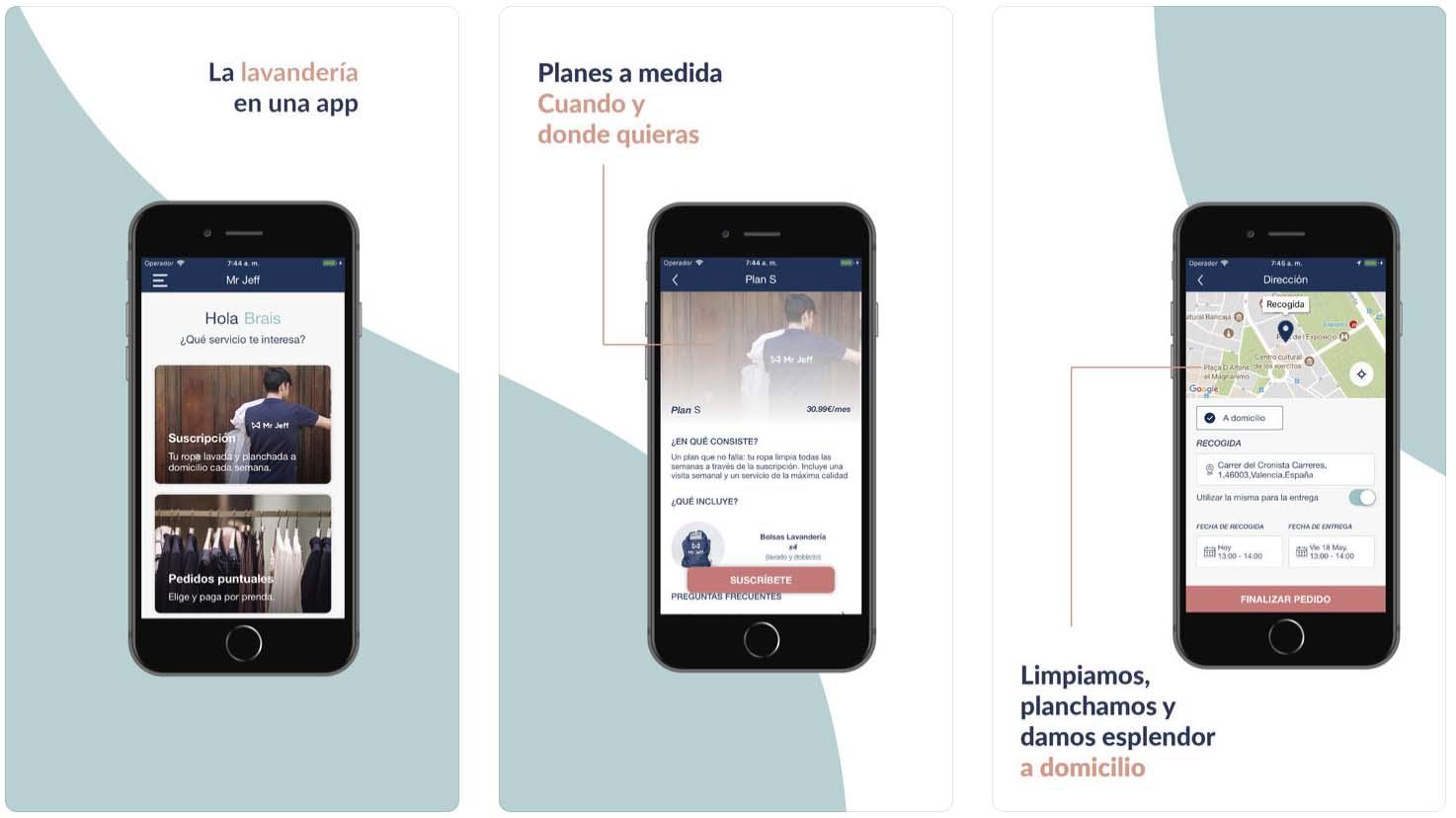Telas do aplicativo Mr Jeff  - mrjeff - Os melhores apps da semana para iPad e iPhone