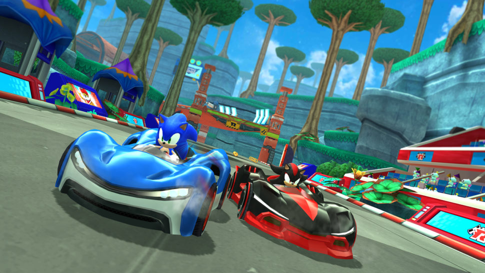 "Game ""Sonic Team Racing"""