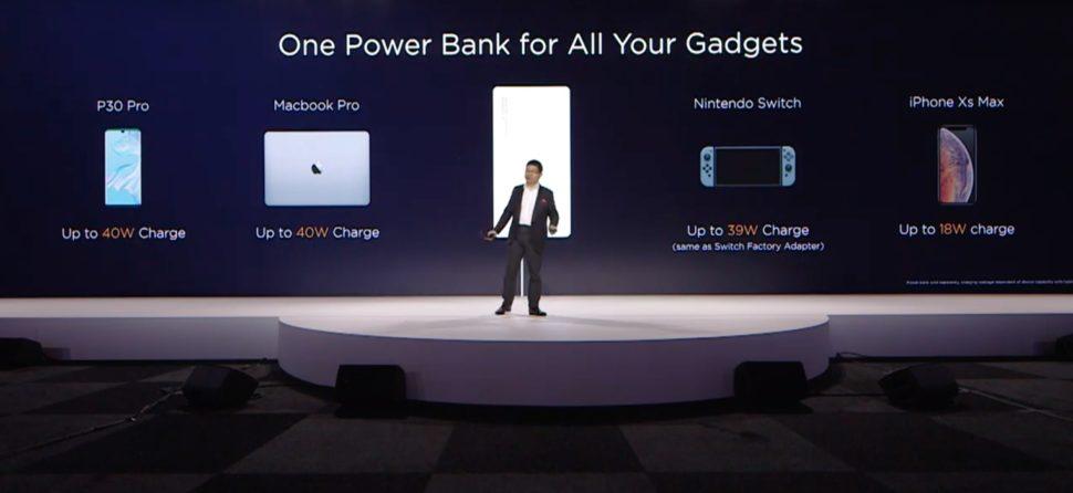 Super Power Charger, da Huawei, carrega até laptop