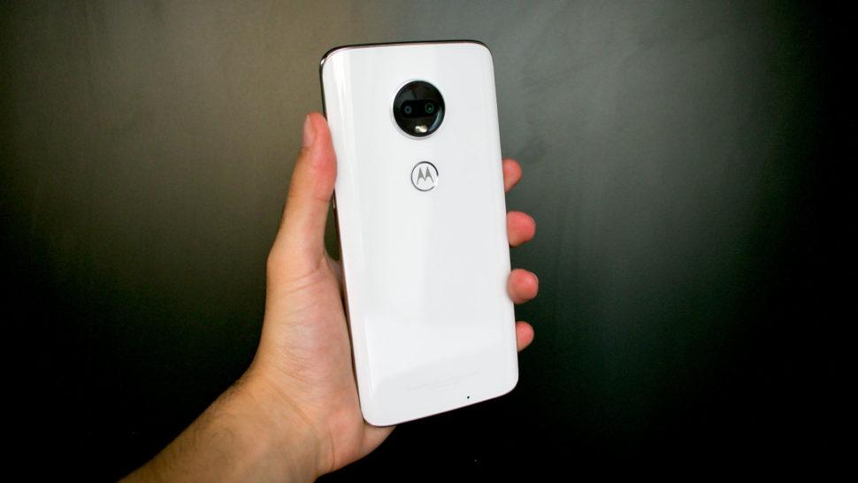 Câmera traseira do Moto G7