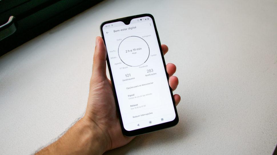 Modo Bem Estar do Moto G7  - 1B4A7638 970x546 - [Review] Moto G7: um smartphone para você considerar antes da sua próxima compra