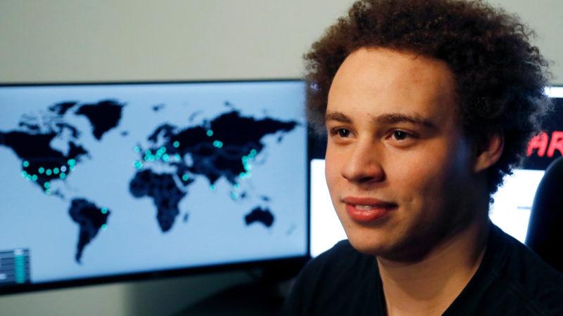 Pesquisador de segurança Marcus Hutchins, que parou o ataque WannaCry