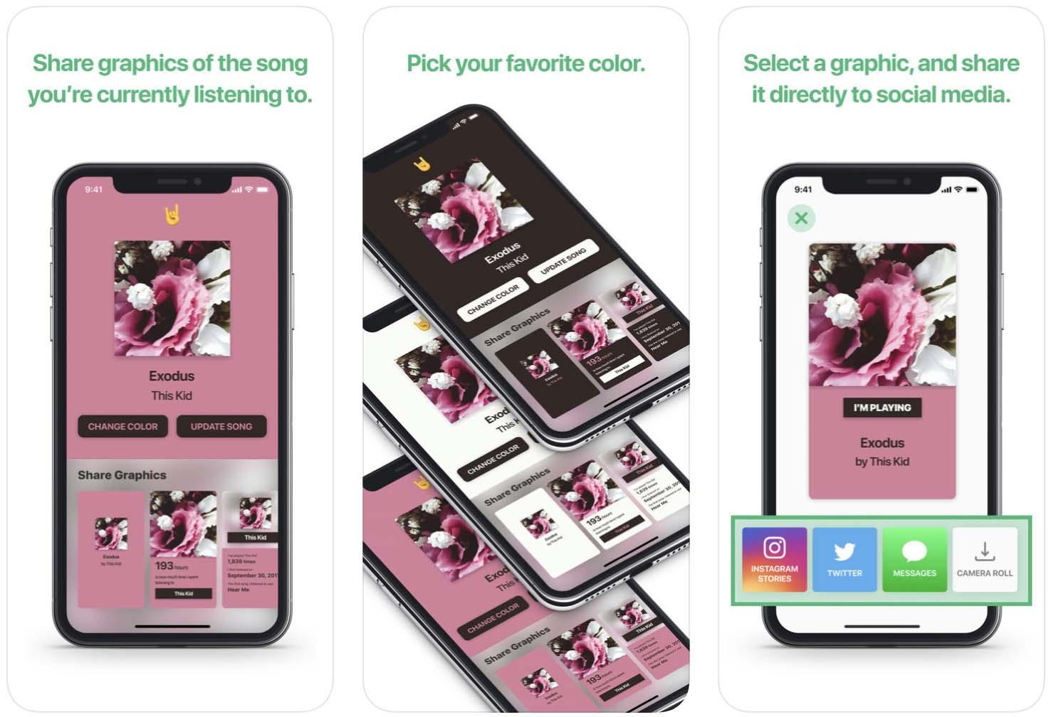 Telas do aplicativo NoiseHub, para iOS