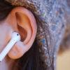 Fones de ouvido AirPods, da Apple