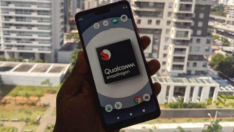Aparelho de teste da Qualcomm com novo chip da série Snapdragon 700