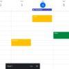 Versão do jogo Space Invaders no Google Calendar