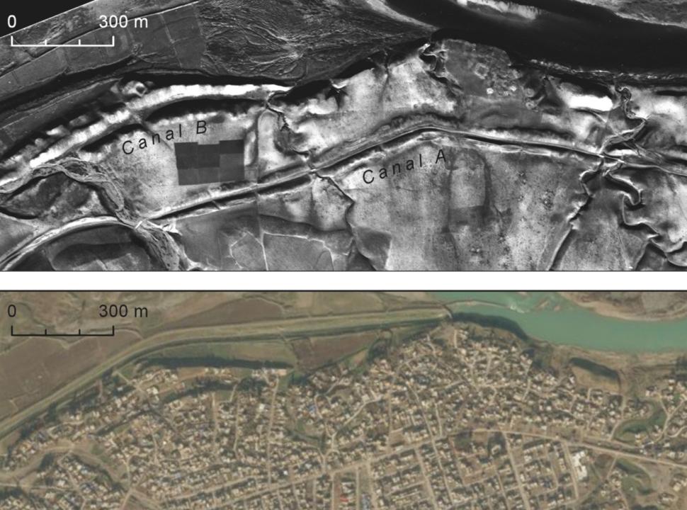 Imagem tirada em avião espião U2 comparada com imagem atual