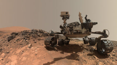 Rover Curiosity, da NASA