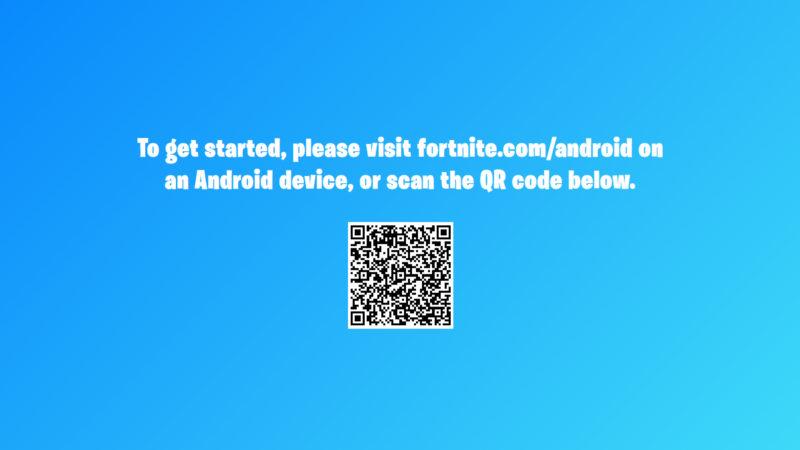Fortnite não está disponível na Play Store, do Google