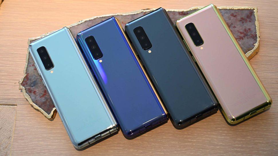 Galaxy Fold de diferentes cores