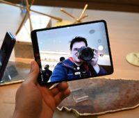 Câmera do Galaxy Fold