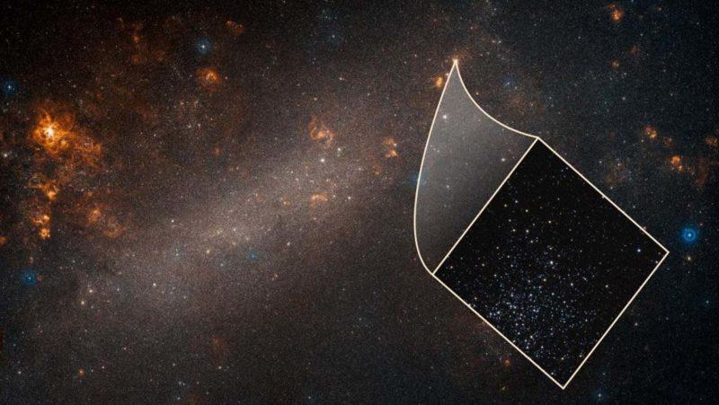 A Grande Nuvem de Magalhães em um close do Hubble.