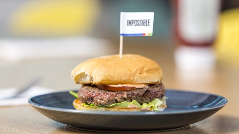 Hambúrguer da Impossible Foods