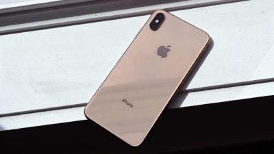 Traseira de um iPhone XS