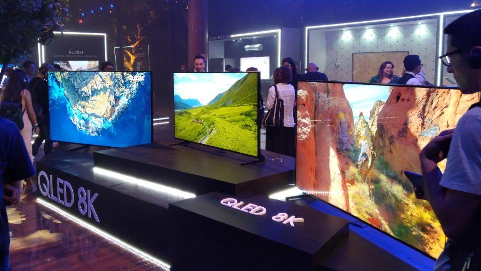 TVs 8K da Samsung