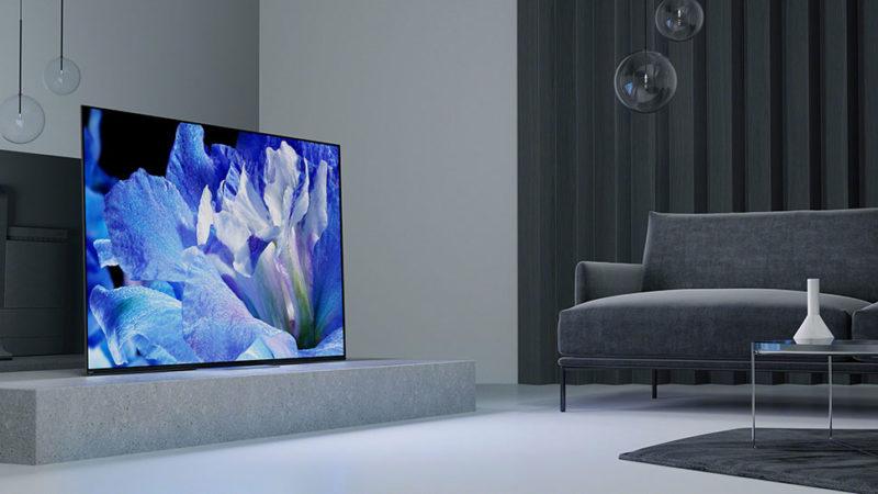 SmarTV Sony A8F
