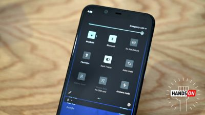 Modo escuro do Android Q