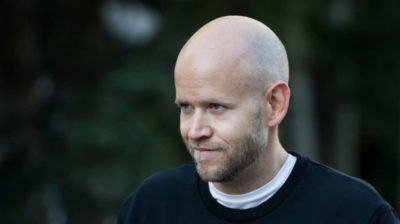 Daniel Ek, CEO do Spotify