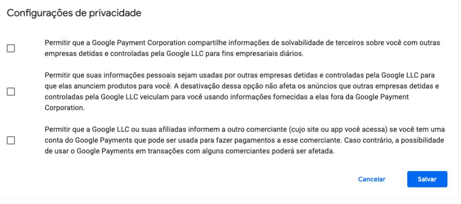 Como encontrar as configurações de privacidade escondidas no Google Pay - Gizmodo Brasil