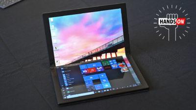 ThinkPad dobrável da Lenovo